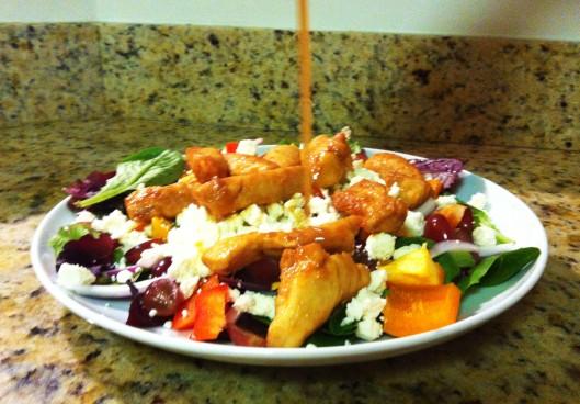 Spicy Ginger Chicken Salad