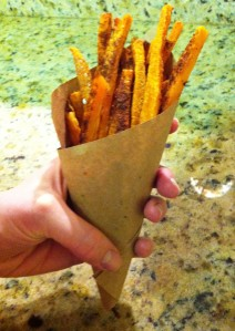 Chili Dusted Sweet Potato Fries