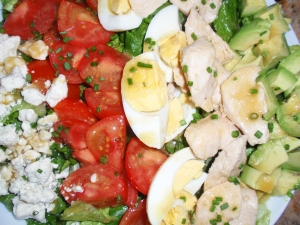 Slimmed Down Cobb Salad