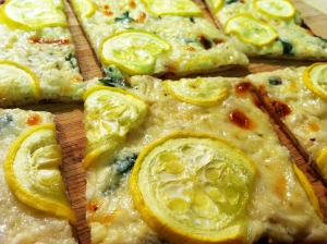 Ricotta and Summer Squash Flatbread