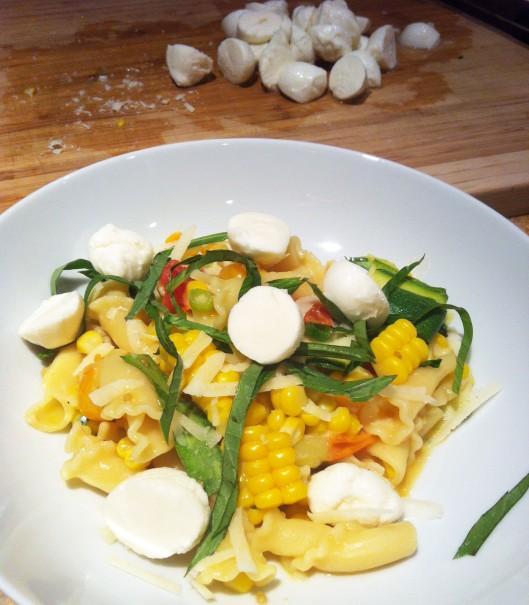 Late Summer Harvest Pasta Primavera