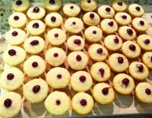 Lemon Raspberry Mini Cupcakes