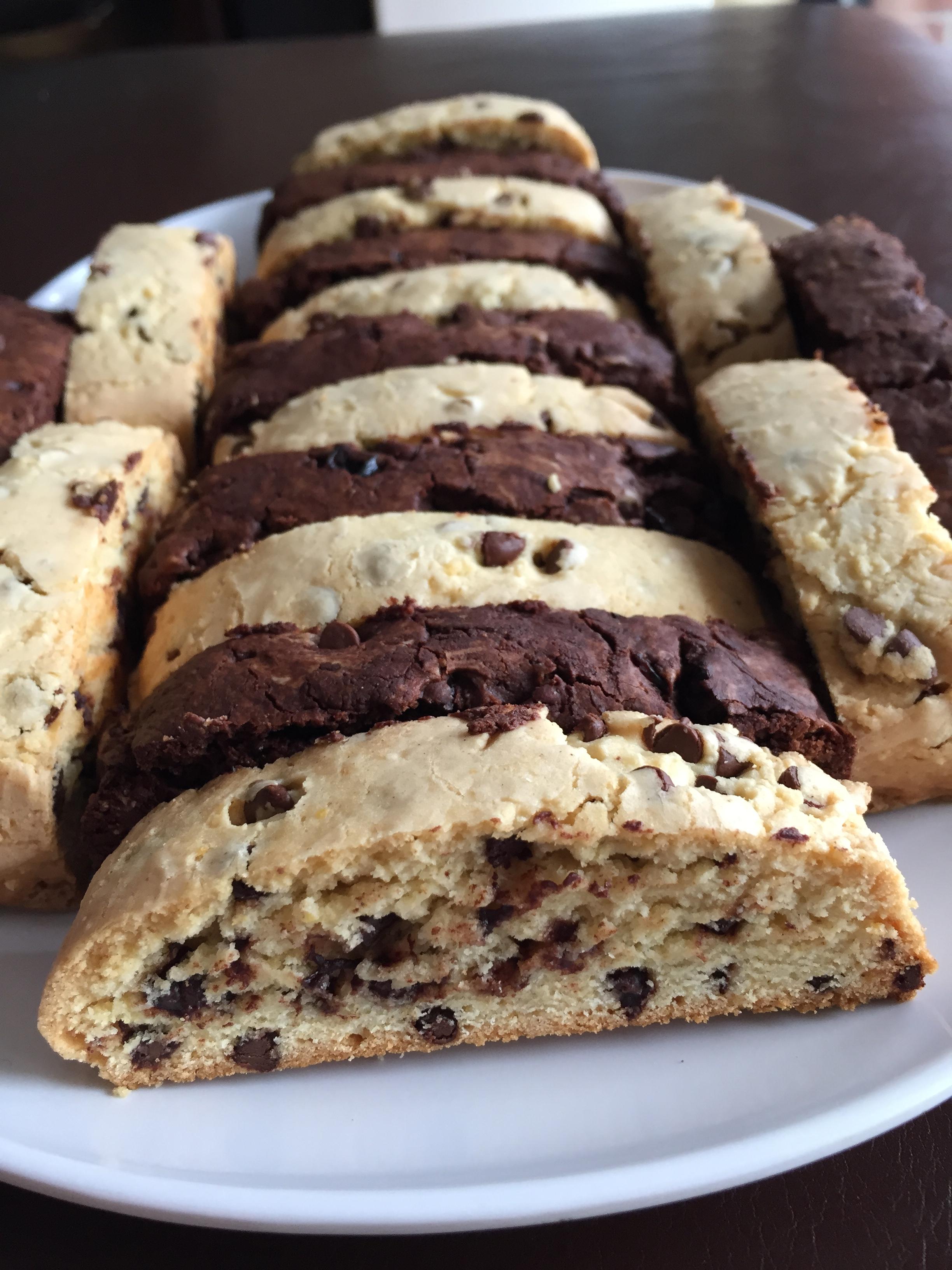 Chocolate Chip Biscotti Janis Cakes