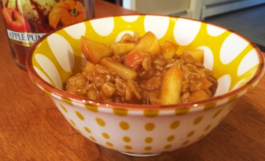 Apple Pumpkin Oatmeal