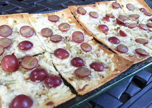 Grape Rosemary Flatbread