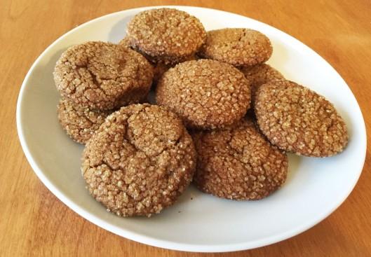 Spiced Molasses Sugar Cookies